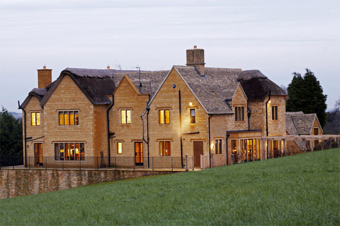 A modern luxury property set in stunning Cotswold village