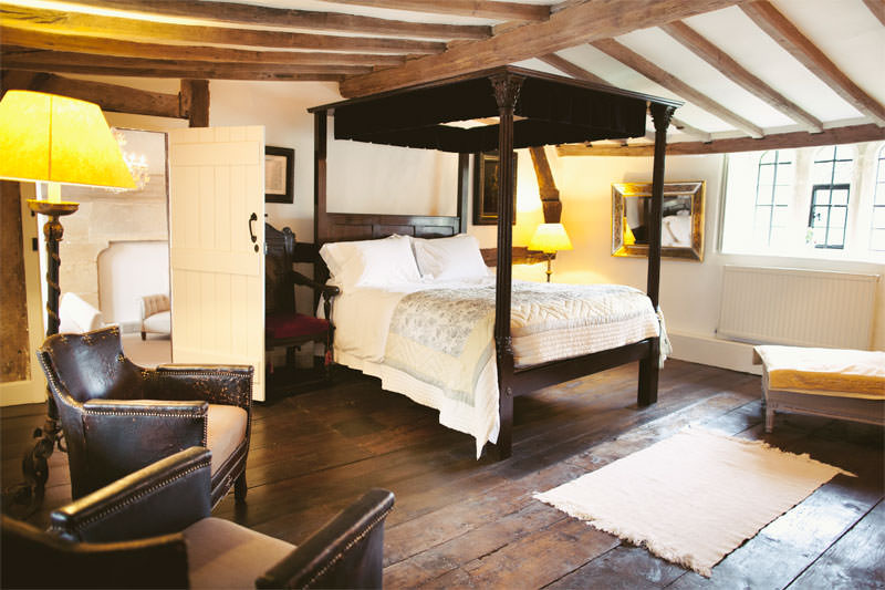 Temple Guiting Manor Bedroom