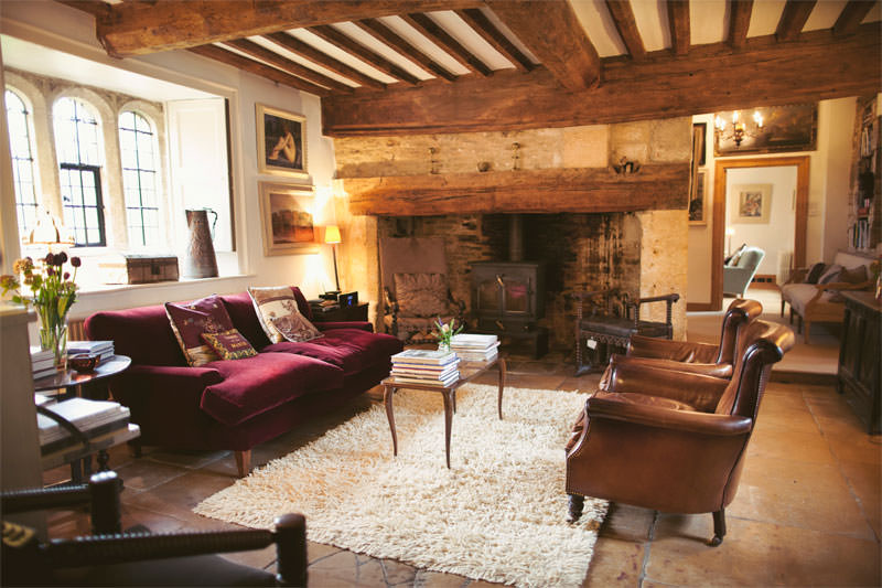 Temple Guiting Manor Lounge