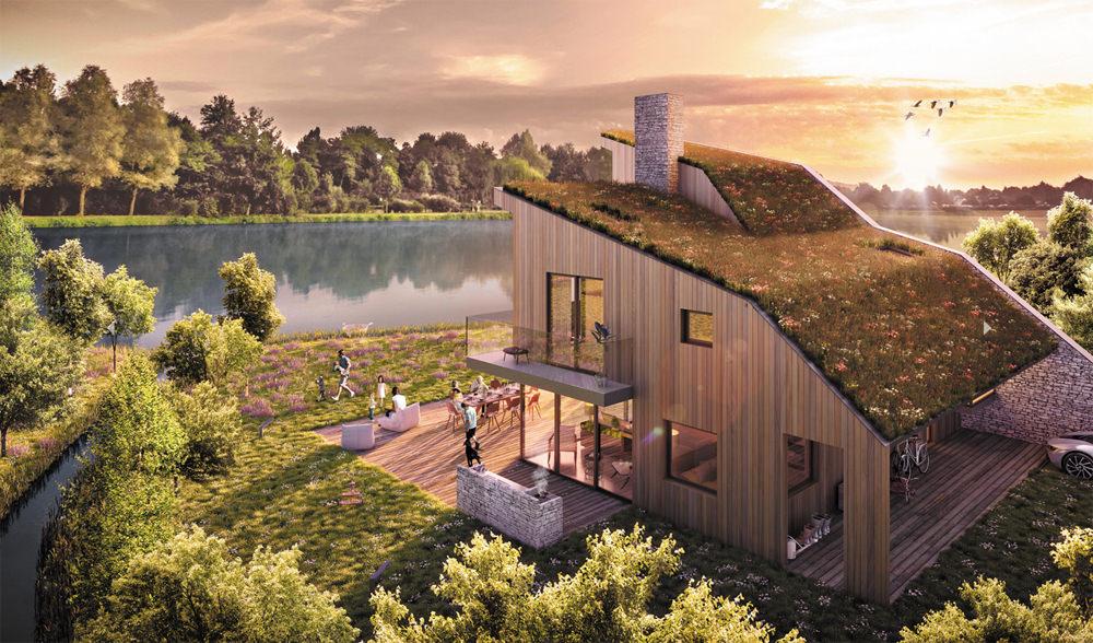 Lower Mill Estate - Habitat House